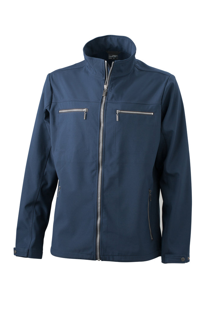 JN 1058 Herren Design Softshell Jacke