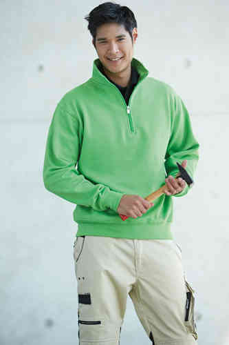 JN 831 Workwear Half Zip Sweater