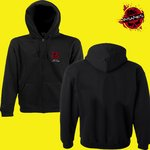 B&C Hooded Full Zip men mit Logo vorne