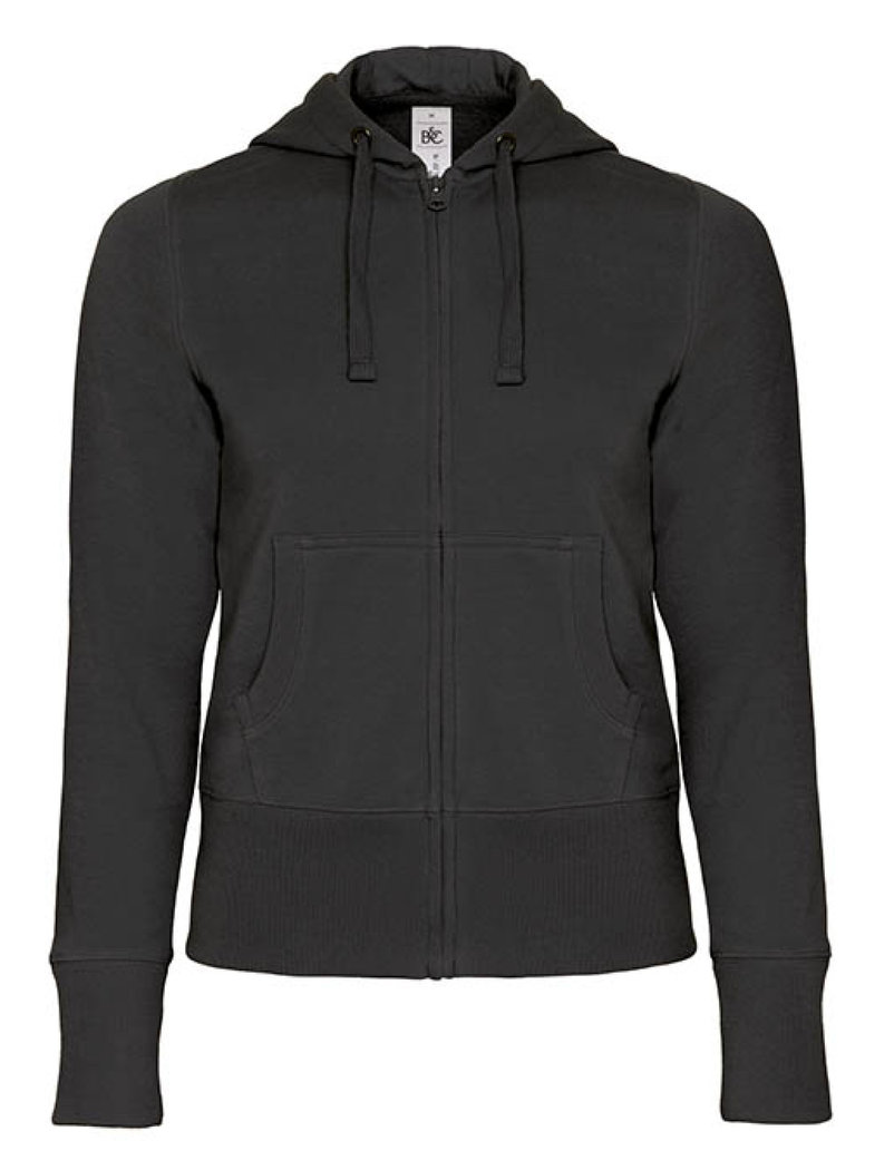 B&C | Hooded Full Zip /women