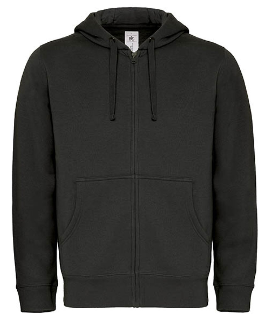 B&C | Hooded Full Zip /men